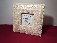 """Current Home Sustainable Living Faux MOP Picture Frame 6.23""""x6.25"""""""