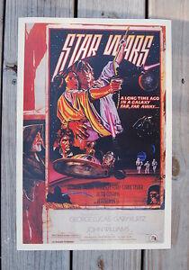 Star Wars Lobby Card Movie Poster #3