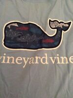 Mens Short Sleeve Graphic Pocket Tee Fish Dots Whale Jake Blue Size M V1