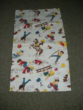 """New listing Vintage Children's Theme Curtains 40"""" x 35"""" Boys/Playthings 3 Pairs"""