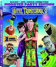 Hotel Transylvania 3: Summer Vacation [New Blu-ray] With DVD, 2 Pack, Digital