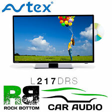 "Avtex L217DRS 21.5"" Caravan MotorHome Truck 12V/24V HD DVD Satellite Freeview TV"