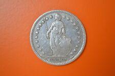 Switzerland 1911 Silver 1 Franc