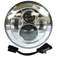 Harley Touring 7 CHROME PROJECTOR DAYMAKER HID LED LIGHT HEADLIGHT  2014-2016