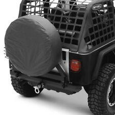 For Jeep Wrangler 04-06 Bumper SRC Classic Full Width Black Rear HD Bumper w
