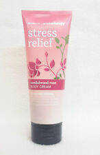 1 Bath & Body Works Stress Relief SANDALWOOD ROSE Aromatherapy Body Cream