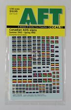 Archer 1/35 Canadian AOS Signs (Summer 1943 - Spring 1945) (3 Sizes) AR77039