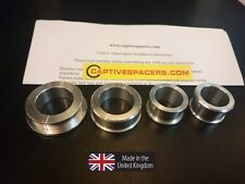 Yamaha R6 1999 2000 2001 2002  5EB Captive wheel Spacers. Full set.