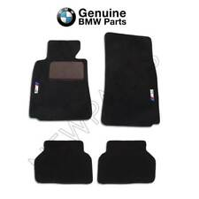 For BMW E39 5 Series M5 2000-2003 Black Carpet Floor Mats Genuine