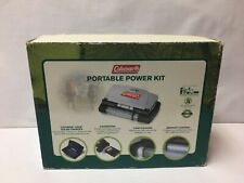 Coleman Portable Power Kit 50100 iSun Solar Charger Light Sound Charging Kit NEW