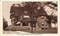 Postcard J.C. Birdsell Residence in South Bend, Indiana~126506