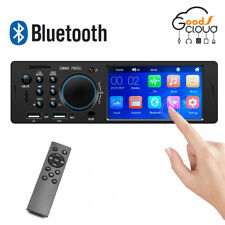 4.1''1 Din Car Radio FM/AUX/USB MP5 Player Mirror Link Bluetooth Stereo FM/RDS