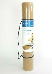 Yoga Mat Classic Yoga Mat Cork With Non Toxic Rubber Backing Natural Sustainable