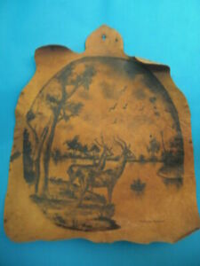 Leather Wallpaper Ink of China Sign Sheikh Awa Ballathiam. Art African Cameroon