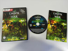 WARHAMMER 40000 DAWN OF WAR DARK CRUSADE JUEGO PC ESPAÑOL DVD-ROM