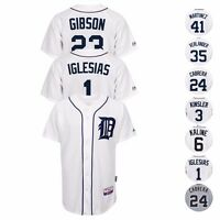 Detroit Tigers MLB Authentic On-Field MAJESTIC Cool Base Jersey Collection Men's