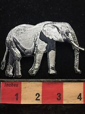 """4"""" Gray ELEPHANT Jacket Patch - Giant African / Asian Animal 72Z2"""
