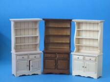 Geschirrschrank Küchenschrank Puppenhausmöbel Miniaturen 1:12