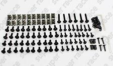 Universal Black Fairing bolts Clips Screws For Suzuki GSXR600 750 2011-2012 K11