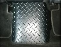 Rear Tunnel Middle Car Floor Mat Hard Wearing Rubber Universal