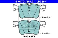 Ceramic Bremsbelagsatz, Scheibenbremse Vorderachse ATE 13.0470-3857.2