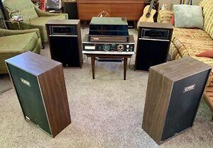 Morse Electrophonic Quad System 8-Track Record Player 4-Channel Quadraphonic 487