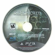 PS3 Dishonored Disk Only