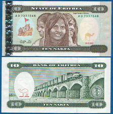 ERITREA 10 Nafka 1997 UNC   P. 3