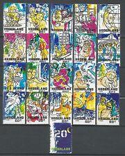 ˳˳ ҉ ˳˳NE04 Netherlands Nederland December Stamps Christmas 2000 complete set 21