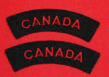 Royal Canadian Navy-CANADA-Red on Blue shoulder flashes