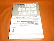 manuale delle aziende commerciali disciplina legale fiscale formulari 1969