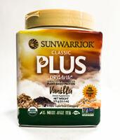 Sunwarrior Classic Plus Organic Vegan Fit & Lean Protein - 15 Servings VANILLA