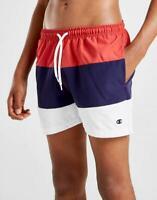 New Champion Boys' Tri-Colour Block Swim Shorts