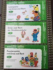 3x Westermann mini LÜK. Ernie und Bert. Vorschule/1.Klasse  @ TOP @ Wie Neu @