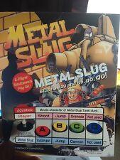 Metal Slug Neo Geo Mini Arcade Marquee