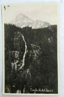 RPPC Divided Back Eagle Peak Glacier, Mt Rainier Natl Park, WA.  Unposted