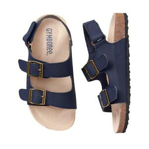 NWT Gymboree Boy Sandals Shoes Trail Toddler and kids sizes Navy Blue