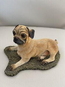 Pug sherratt simpson dog pug Vintage