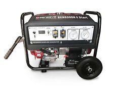 Honda Gx390 Portable Generator Petrol 8kva - 6400w/max 240v Key Start