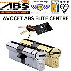 Avocet ABS High-Security Euro-Cylinder-UPVC-Door Lock Anti Snap TS007 3 Star ***