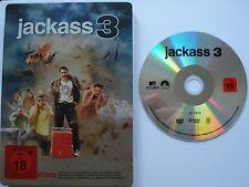 STEELBOOK EDITION __  JACKASS 3   __  FSK 18 DVD SINNLOS SCHMERZHAFT SEHR LUSTIG