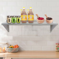 3091cm Solid Wall Shelf Stainless Restaurant Pantry Organizer Rack Silver New