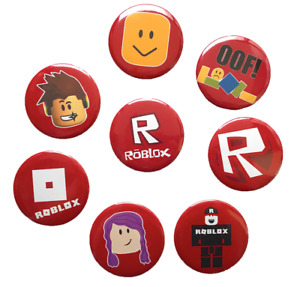 Roblox Game Badges for Boy Girl Birthday Party Bag Gift Childrens Roblox Badge