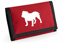 Bulldog Wallet Colour Choice Purse Birthday Gift Dog Lovers Silhouette
