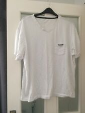 Mens White Donnay T Shirt