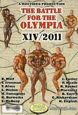 BATTLE FOR THE OLYMPIA 2011 DVD Bodybuilding Mr Olympia IFBB NPC PHIL HEATH WINS