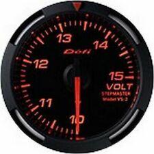 DEFI Red Racer 52mm Voltage Gauge (US)