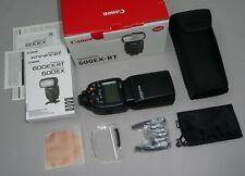 Canon Speedlite 600EX-RT EOS Blitzgerät Funk-Auslöser Systemblitz Flash