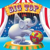 Big Top Birthday Lunch Napkins, (33cm x 33cm) 3 Ply Pack of 16