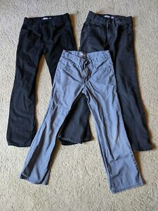 LOT Boys Old Navy jeans size 8 Straight fit, adustable waist 3 total